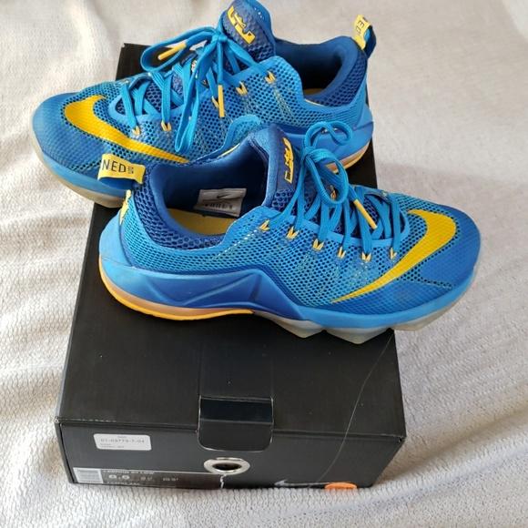 uk availability 5c274 6d8cc Lebron xll low shoes Lebron s 12. M 5c2ba323de6f62aecd77d4d7